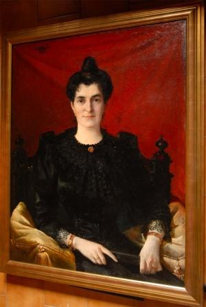 Portrait de Mme Corone © Ernest Azéma